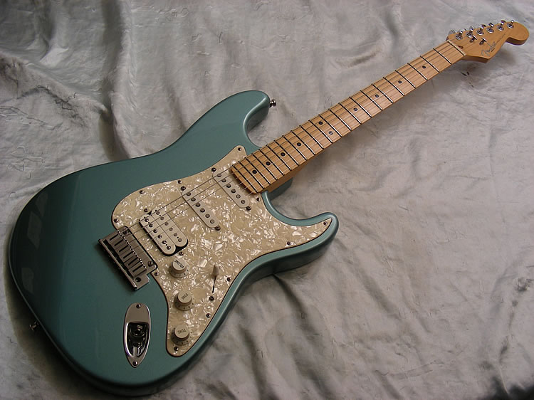 96 fender american lonestar stratocaster hss fat strat ebay. Black Bedroom Furniture Sets. Home Design Ideas