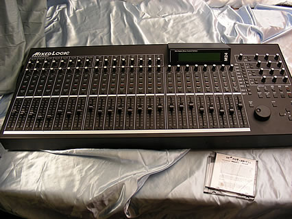 channel control surface motorized flying faders daw pro tools