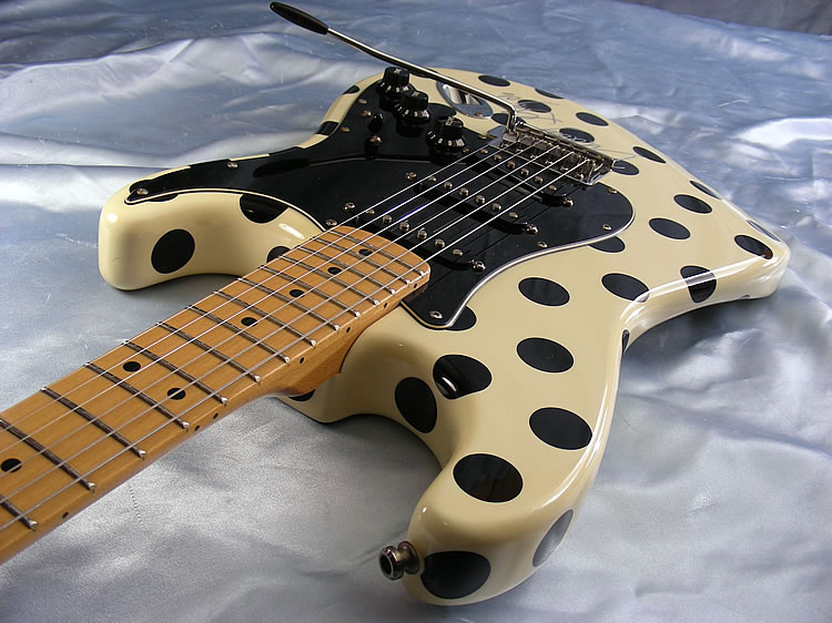 1996 fender buddy guy signature stratocaster with autograph strat. Black Bedroom Furniture Sets. Home Design Ideas