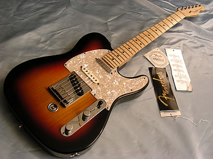 2008 fender b bender telecaster nashville american standard seriestele sunburst ebay. Black Bedroom Furniture Sets. Home Design Ideas