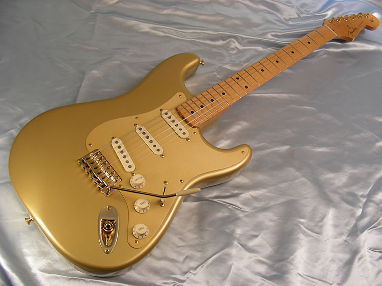 fender stratocaster 50th anniversary gold